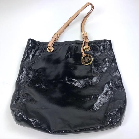 b223056c25a1 MICHAEL Michael Kors Bags | Patent Leather Tote | Poshmark